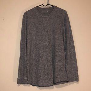 🍊Men's Long Sleeve Gray Shirt